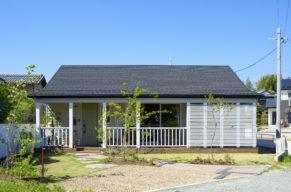 西海岸スタイルの木造住宅