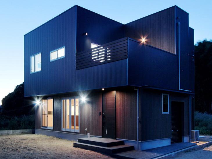 こだわりの間取りデザインの木造住宅