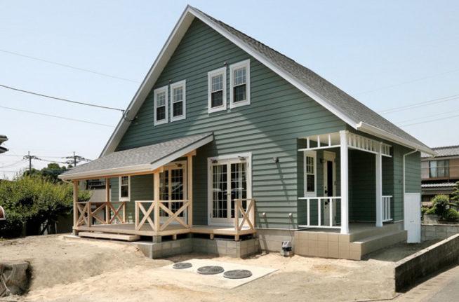趣味があふれるアメリカンな木造住宅
