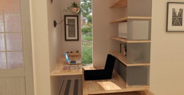 クローゼットや屋根裏の「隠れ家書斎」