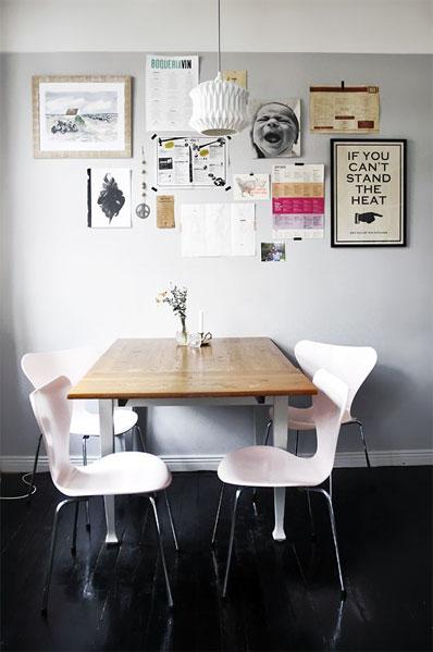 シンプルスタイルを演出する家具