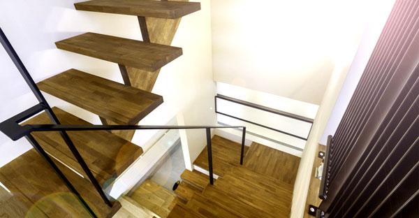 階段のさまざまな形